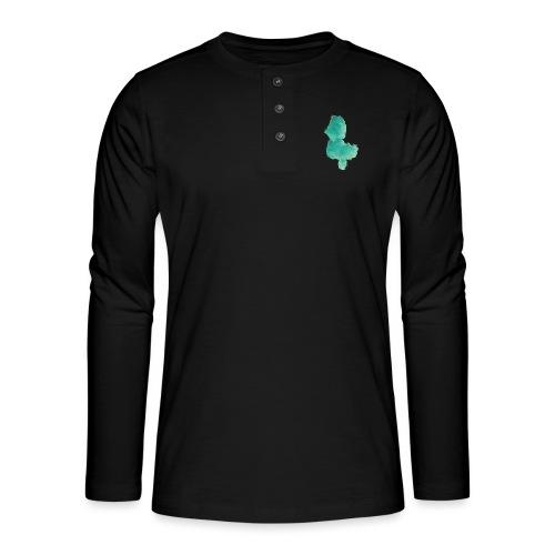 grünes Küken - Henley Langarmshirt