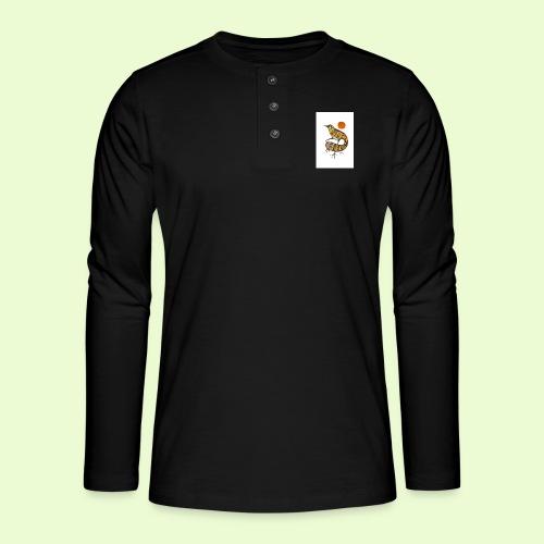 BG - Henley pitkähihainen paita