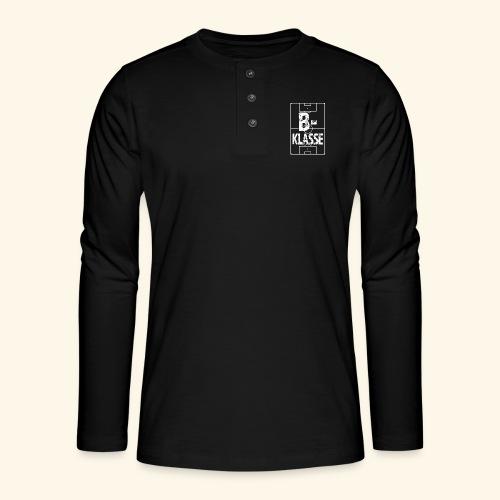 B-Klasse im Fußballfeld - Henley Langarmshirt