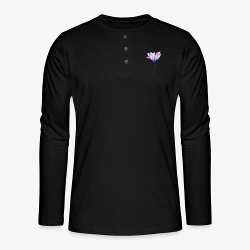 Fleur - T-shirt manches longues Henley