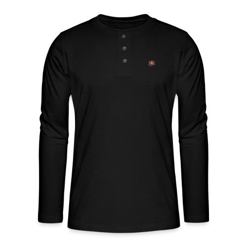A - Henley Langarmshirt