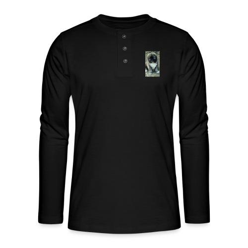 Kolekcja Kazan - Koszulka henley z długim rękawem