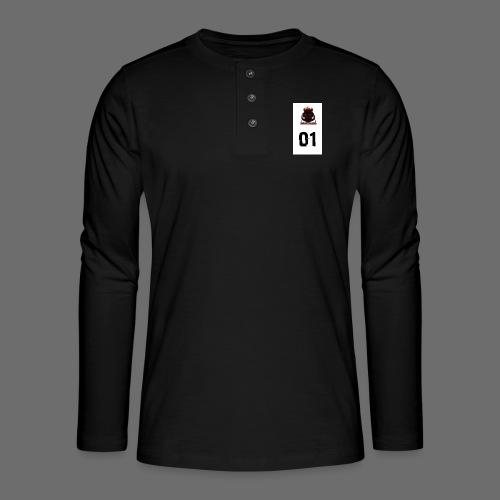 Boar blood 01 - Koszulka henley z długim rękawem