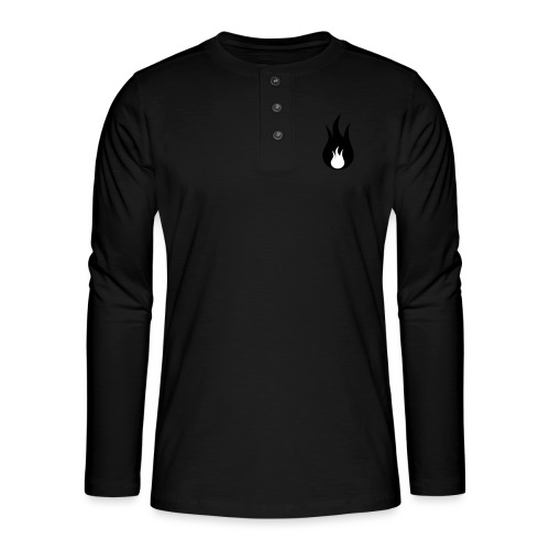 fuego - T-shirt manches longues Henley