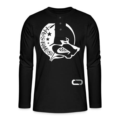 CORED Emblem - Henley long-sleeved shirt
