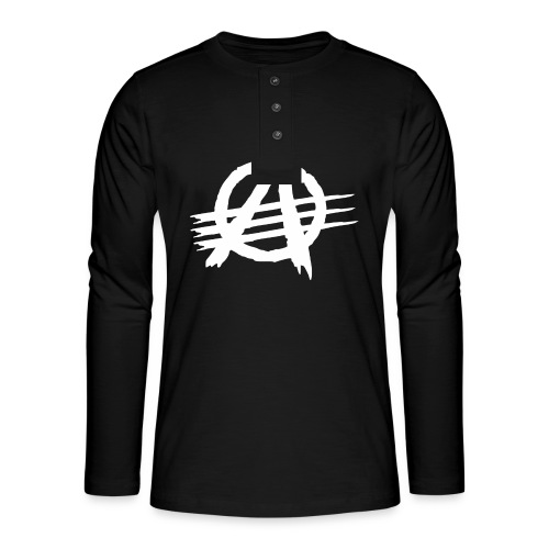 AGaiNST ALL AuTHoRiTieS - Henley long-sleeved shirt