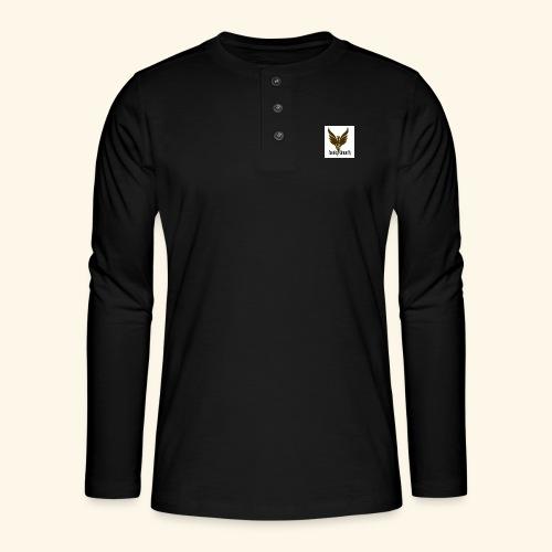 feeniks logo - Henley pitkähihainen paita