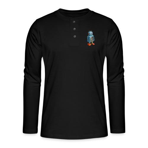 T-Shirt ROBOT - Maglia a manica lunga Henley