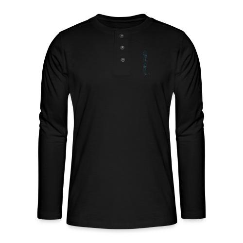 Blue Stars - Henley long-sleeved shirt