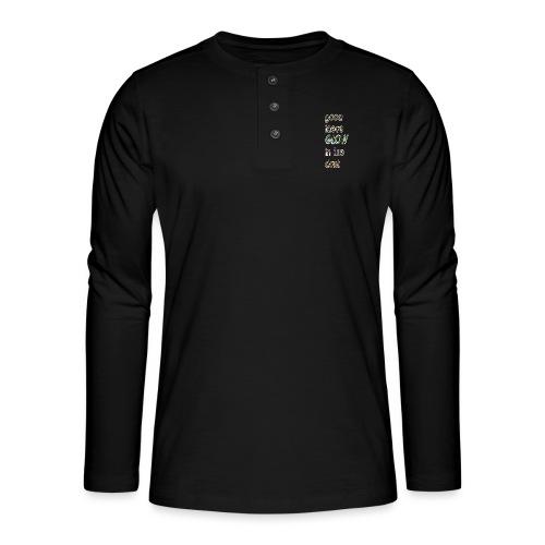 good ideas GLOW in the dark - Camiseta panadera de manga larga Henley
