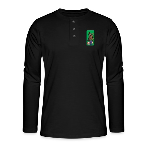 iphone 44s01 - Henley long-sleeved shirt