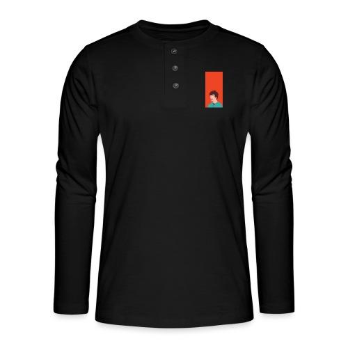 Aron Deksel v.2 Galaxy S6 - Henley langermet T-skjorte