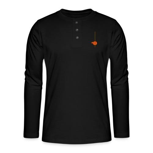 berimbau caxixi - Henley long-sleeved shirt