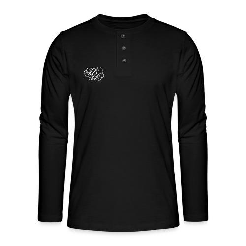 Hadeshell Initialen - Henley Langarmshirt