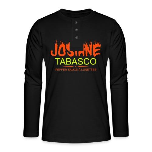 josiane tabasco - T-shirt manches longues Henley
