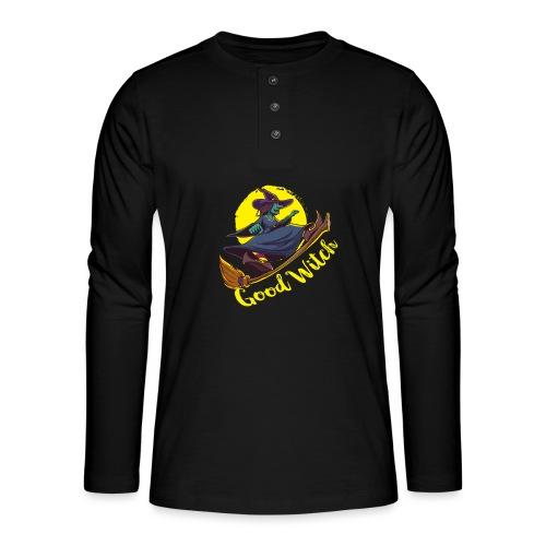 Good Witch Outfit für Hexen im Kessel brauen - Henley Langarmshirt