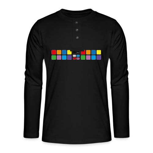 PDJ-UK-PADS-V1 - Henley long-sleeved shirt