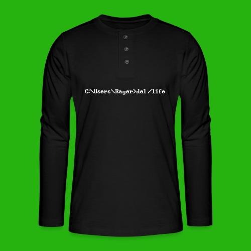 Programming Get A Life - Henley long-sleeved shirt