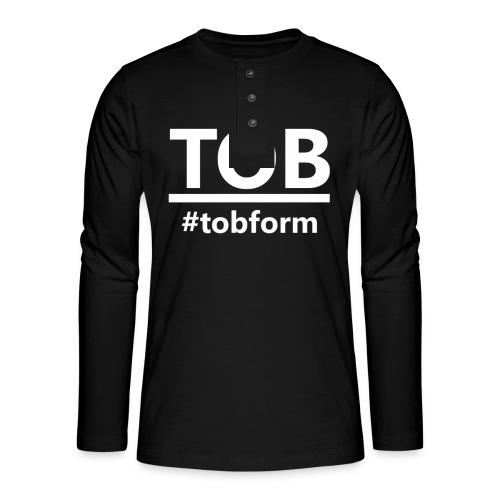 #tobform T-Shirt - Henley Langarmshirt