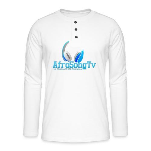 logo - Camiseta panadera de manga larga Henley