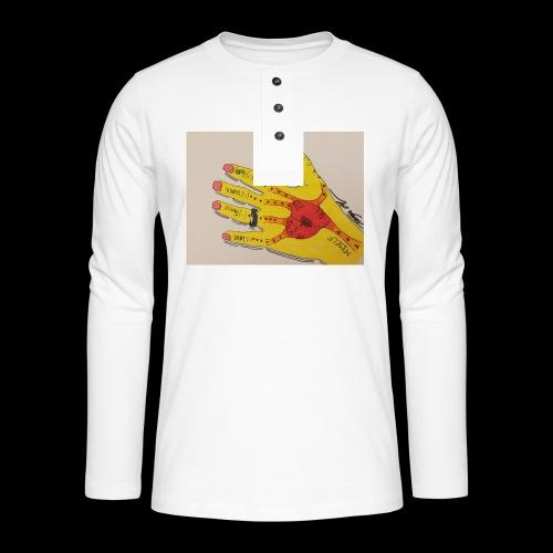 9D8D600F D04D 4BA7 B0EE 60442C72919B - Henley T-shirt med lange ærmer