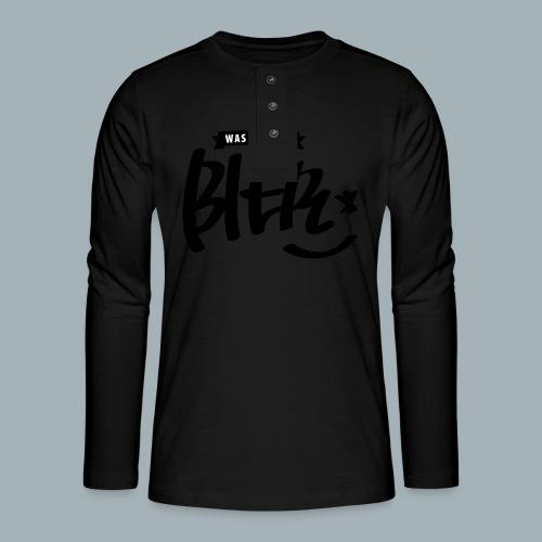 Bier Premium T-shirt - Henley shirt met lange mouwen