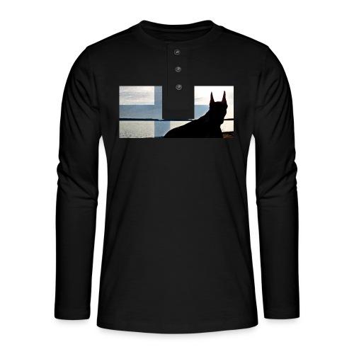 HUPPARITAUSTA2016 copy - Henley pitkähihainen paita