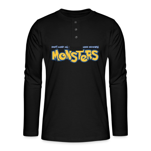Monsters - Henley long-sleeved shirt