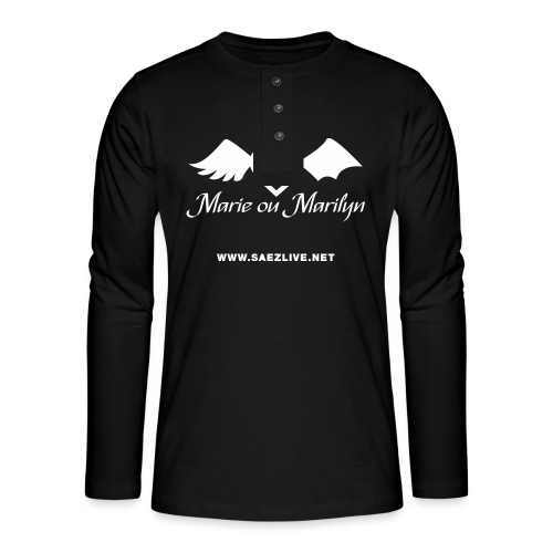 Marie ou Marilyn (version light) - T-shirt manches longues Henley