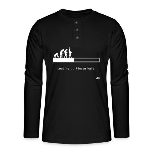 Loading... - Henley long-sleeved shirt