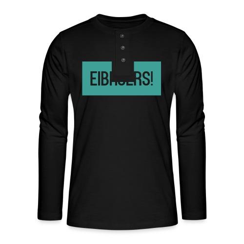 T-shirt Vrouwen - Henley shirt met lange mouwen