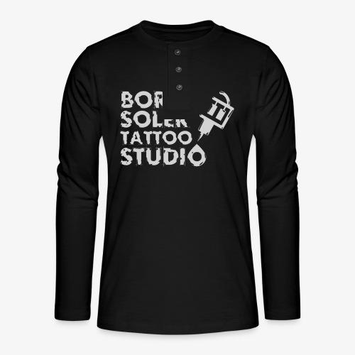 Boris Soler Tattoo - Henley long-sleeved shirt