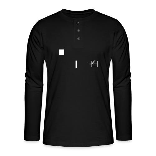 /obeserve/ sweater (M) - Henley langermet T-skjorte