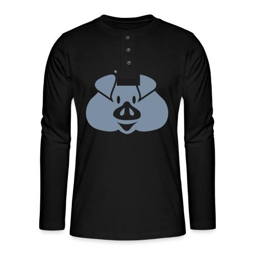 Habsburger Schwein - Henley long-sleeved shirt