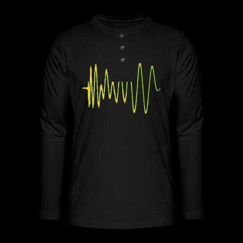 Boom 909 Drum Wave - Henley long-sleeved shirt