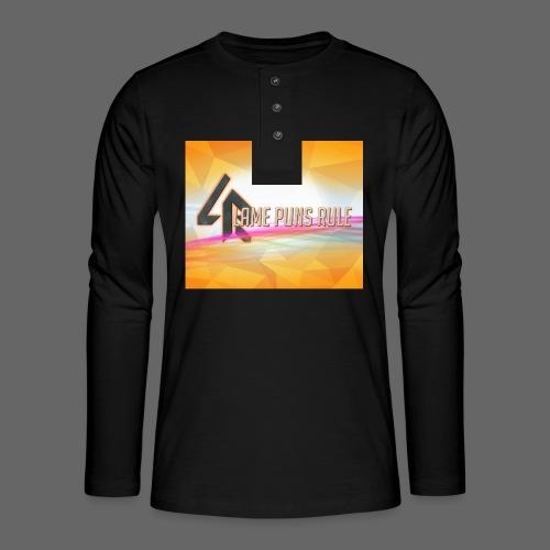 lpr mousepad png - Henley long-sleeved shirt