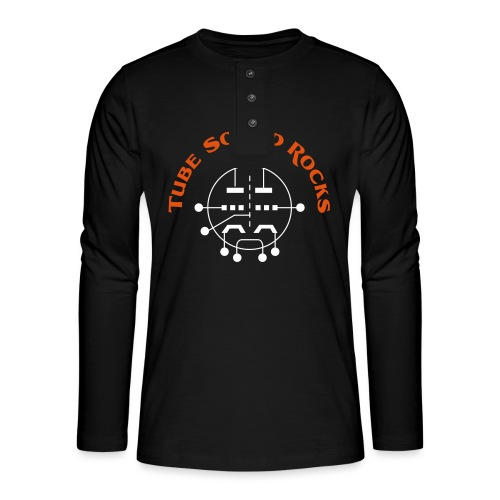 ECC88 - Tube Sound Rocks - Henley Langarmshirt