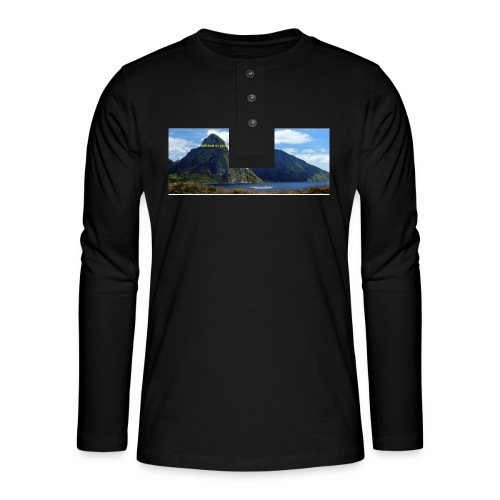 believe in yourself - Henley long-sleeved shirt