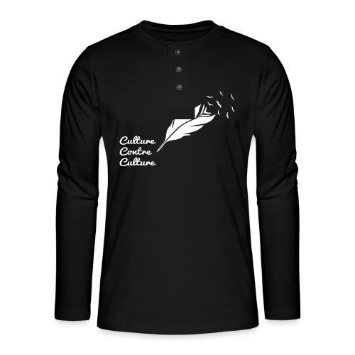 Culture contre Culture (version light, par éoline) - T-shirt manches longues Henley