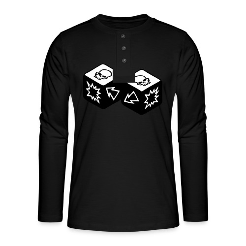 Double Skull - T-shirt manches longues Henley