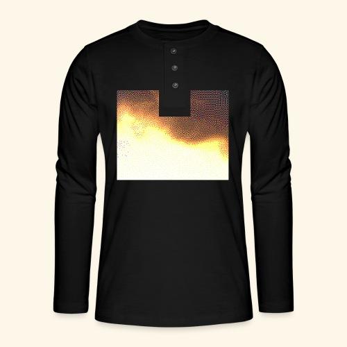 sky cloud - T-shirt manches longues Henley