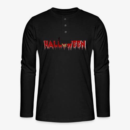 Halloween4 - Henley Langarmshirt