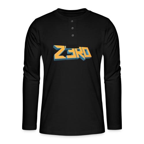 The Z3R0 Shirt - Henley long-sleeved shirt