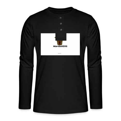 FloppyGang - Henley shirt met lange mouwen