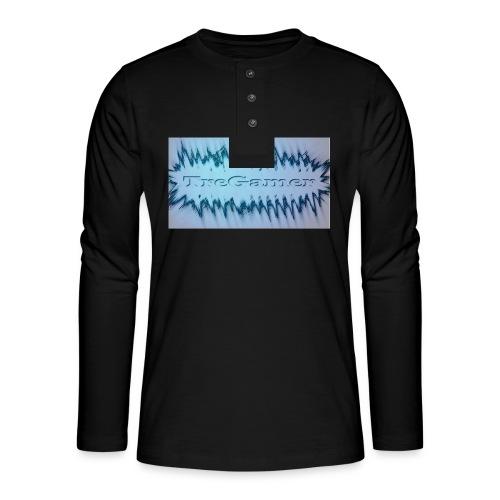 TreGamer - Henley T-shirt med lange ærmer