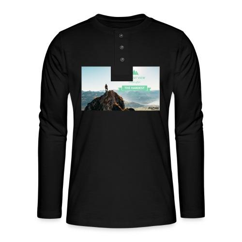 fbdjfgjf - Henley long-sleeved shirt