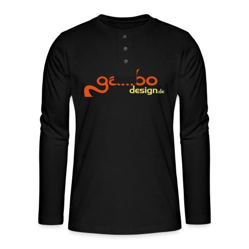 gambo design - Henley Langarmshirt