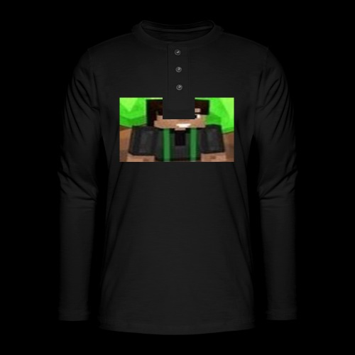 EnZ PlayZ Profile Pic - Henley long-sleeved shirt