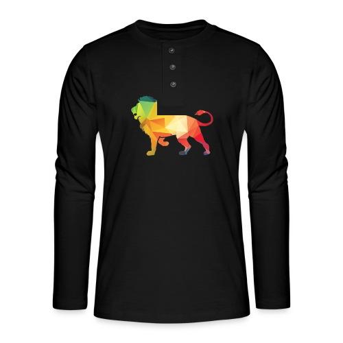 lion - Henley shirt met lange mouwen