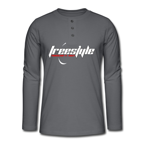 Freestyle - Powerlooping, baby! - Henley long-sleeved shirt